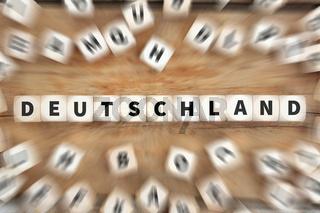 Deutschland Land Reise Reisen Würfel Business Konzept