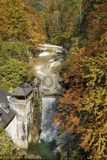 Fluß Salza im Nationalpark Gesäuse Steiermark, Österreich