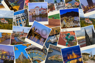 Collage of Czech republic images (my photos)