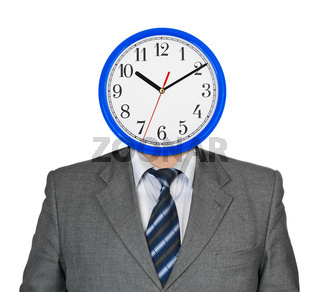 Clock for head