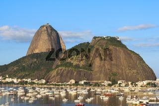 Rio de Janeiro: Sugar Loaf and boats