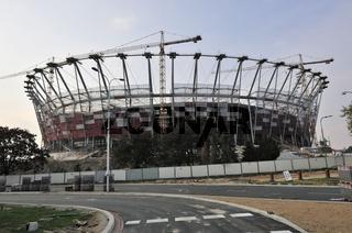 Nationalstadion Warschau, Polen / Stadion Narodowy w Warszawie