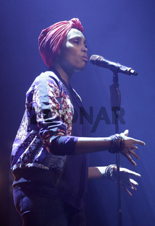 French singer Imany