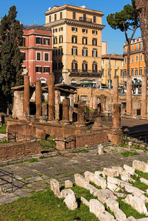Largo di Torre Argentina sacred place in Rome