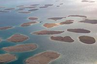 Dubai The World Welt Insel Inseln Luftaufnahme Luftbild
