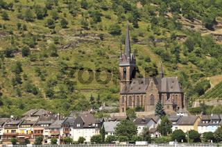 Lorchhausen, Rheingau, Hessen, Deutschland, Europa