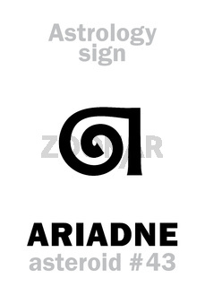 Astrology: asteroid ARIADNE
