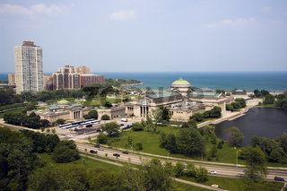 Lake front in Chicago