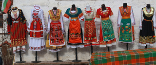 Authentic folk costumes from Bulgaria