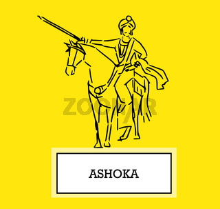Illustration of Ashoka