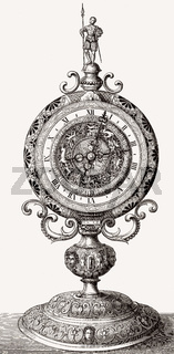 An ancient clock, 16th century