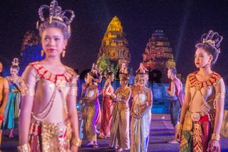 THAILAND ISAN PHIMAI SOUND AND LIGHT SHOW