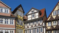Wolfenbüttel - Old town houses, Germany