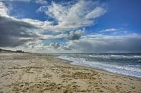 dutch beach at the North Sea
