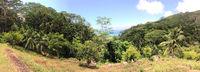 Seehelles island of Mahe