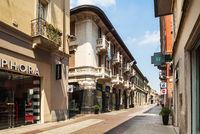 Via Corso Roma in Turin