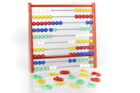 abacus with numerics