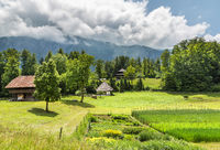 Rural landscape in Switzerland