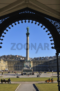 Schlossplatz Stuttgart, Deutschland Germany