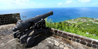 Cannon at Brimstone Hill - St Kitts
