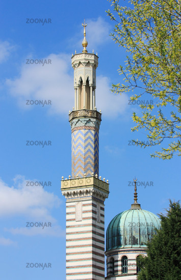 Potsdam Dampfmaschinenhaus Sample Tower, upright