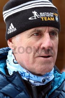 IBU Biathlon Massenstart Herren 15 km