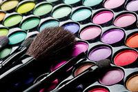Multi colored make-up