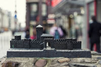 Miniature version of the Neuss low gate in the Kre
