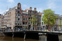 Cityscape of Amsterdam