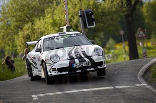 Ruben Zeltner bei der AvD Sachsen Rallye 2012