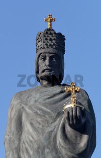 Statue Barbarossa, Speicherstadt Hamburg