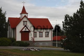 Catholic church in Akureyri. Eyjafjörður