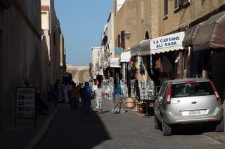 Streets of the Cite Portugaise - the Fortified City of Mazagan. El-Jadida
