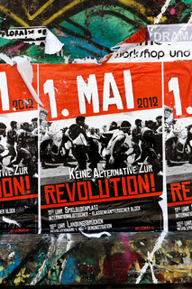 May Day 2012 Poster Calling for Revolution