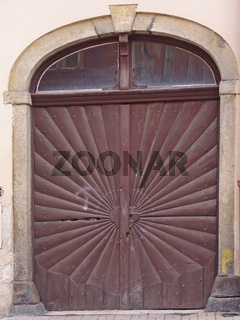 Portal in Eger (Cheb)