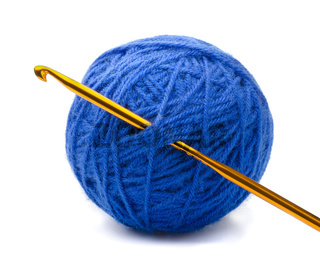 Yarn and crochet hook