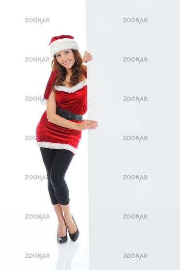 Christmas Smiling Woman