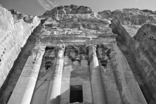 Urnengrab, Berg El Khubtha, Petra, Jordanien