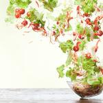 Flying salad