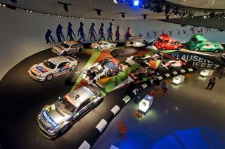 Mythos 7 im Mercedes Benz Museum Stuttgart