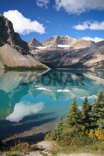 Bow Lake im Banff Nationalpark