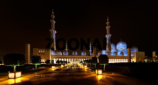 Sheikh Zayed Mosque_Panorama