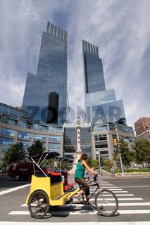 Bicycle at Columbus Circle