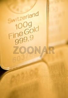 gold ingot  background