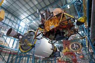 Mondfähre im Saturn V Center, Kennedy Space Center