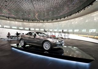 Mercedes-Benz SLK 250 CGI im Mercedes Benz Museum Stuttgart