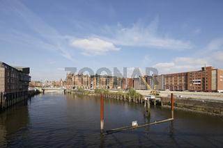 Elbtorquartier in Hamburg vor Beginn der Bauarbeiten