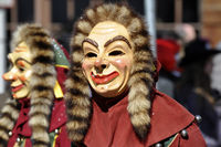 Carnival in Southern Germany: Clown