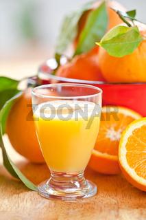Frisch gepresster Orangensaft
