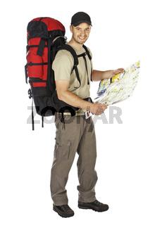 travel man background